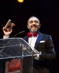 """ÁNGEL RUIZ galardonado como mejor actor de reparto en televisión por su Lorca en el """"Ministerio del Tiempo"""""""